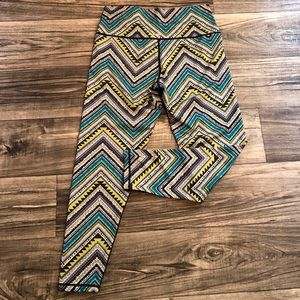 Aerie Chill Play Move Crop Legging size Large